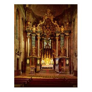 Der hohe Altar im Ostchor Postkarte
