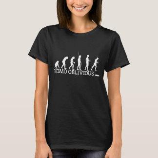 Der Homo-vergesslicher T - Shirt der Frauen auf