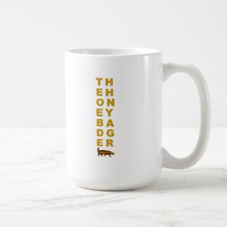 der Honigdachs Kaffeetasse