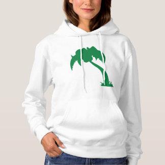 Der Hoodie der grünen Palme-Frauen