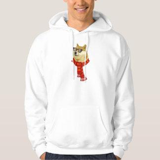 Der Hoodie der Hipsterdoge-Männer