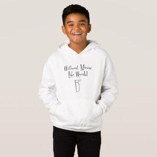 Der Hoodie flachen Jungen B