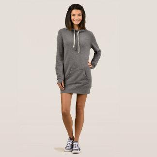Der Hoodie-Kleid der Frauen Kleid