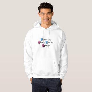 Der Hoodie-Shirt der Transgender-Stolz-Männer Hoodie