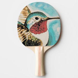 Der hübsche Kolibri des Costas Tischtennis Schläger