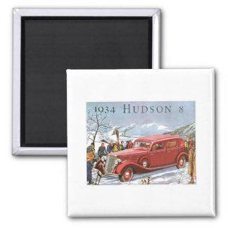 Der Hudson 1934 Kühlschrankmagnete