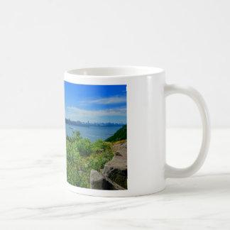 Der Hudson mit NYC Kaffeetasse