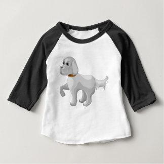 Der Hund gibt Tatze Baby T-shirt