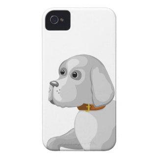 Der Hund gibt Tatze iPhone 4 Case-Mate Hülle