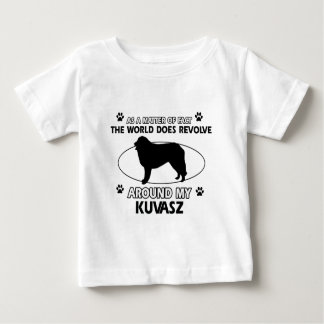 Der Hund rotiert um mein kuvasz Baby T-shirt