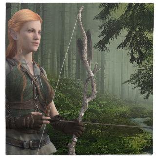 Der Huntress Serviette