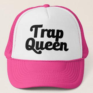 Der Hut der lustigen Blockierkönigin-Frauen Truckerkappe