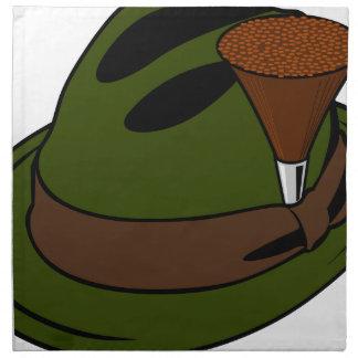 Der Hut des Jägers Stoffserviette
