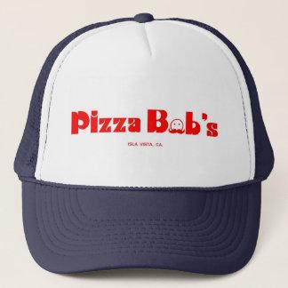 Der Hut des Pizza-Bobs Truckerkappe
