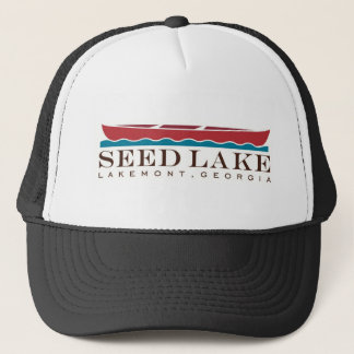 Der Hut des Seed See-Fernlastfahrers Truckerkappe