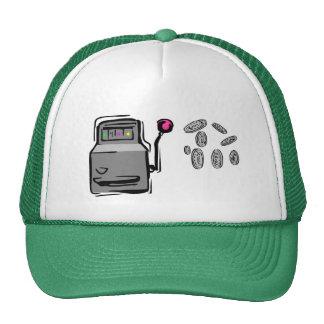 Der Hut des Spielers - Spielautomat Netzkappe