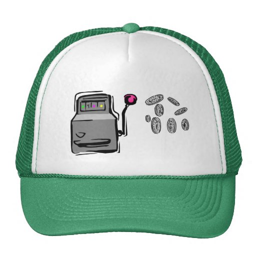 Der Hut des Spielers - Spielautomat Retrokultkappen