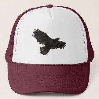 Der Hut fliegender jugendlicher Weißkopfseeadler Truckerkappe