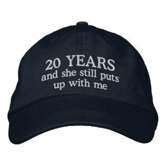 Der Hut-Geschenk-Kappe der lustigen 20. Bestickte Kappe