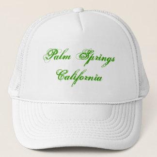 Der Hut Palm Springs-Kalifornien-Fernlastfahrers Truckerkappe