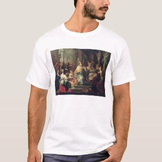 Der Idolisation von Solomon, c.1735 (Öl auf T-Shirt