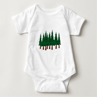 Der immergrüne Wald Baby Strampler