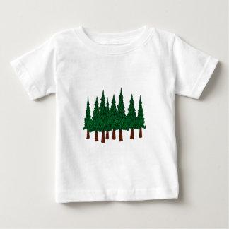 Der immergrüne Wald Baby T-shirt