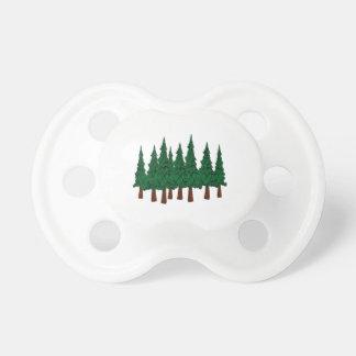 Der immergrüne Wald Schnuller