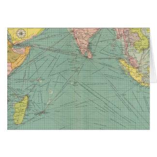 Der Indische Ozean 3 Karte