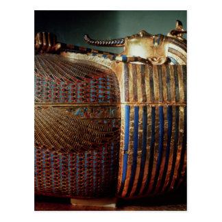 Der innerste Sarg von Tutankhamun Postkarte