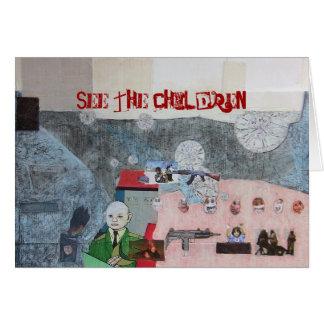 Der Irak die Kinder Karte