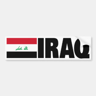 Der Irak-Flagge Autoaufkleber