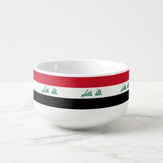 Der Irak-Flagge Große Suppentasse