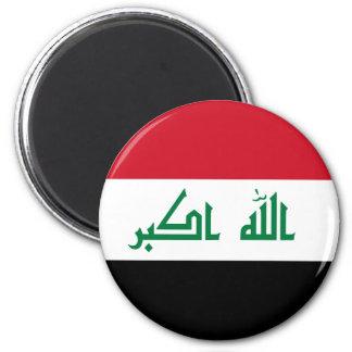 Der Irak-Flagge Runder Magnet 5,7 Cm