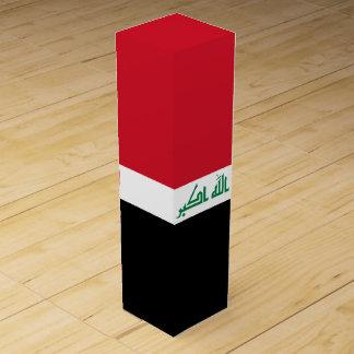 Der Irak-Flagge Weinbox