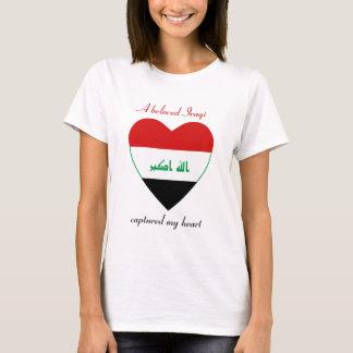 Der Irak-Flaggen-Schatz-T - Shirt