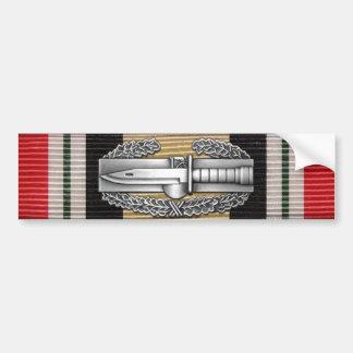 Der Irak-Kampf-Aktions-Abzeichen-Autoaufkleber Autoaufkleber