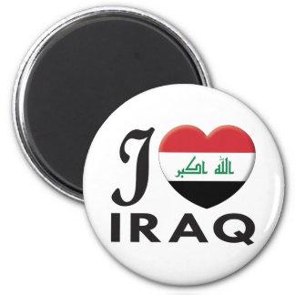 Der Irak-Liebe Runder Magnet 5,7 Cm
