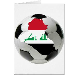 Der Irak-Nationalmannschaft Karte