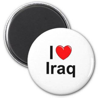 Der Irak Runder Magnet 5,7 Cm