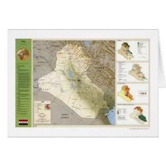 Der Irak-Tatsachen-Karte - 1994 Karte