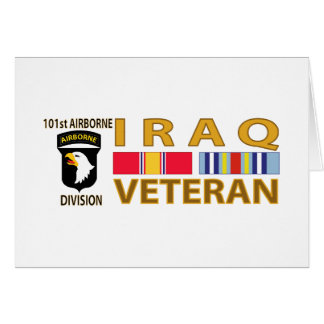 Der Irak-Veteran Karte
