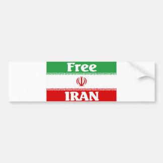 Der Iran-Autoaufkleber