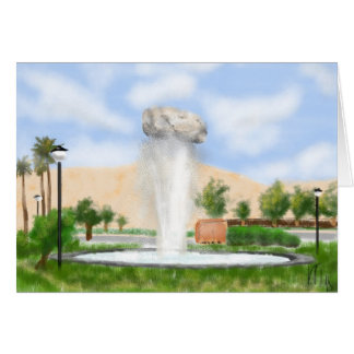 Iran Rock Fountain Shiraz