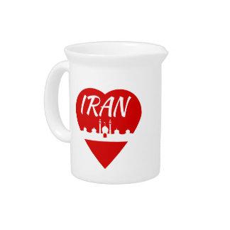 Der Iran-Herz Getränke Pitcher