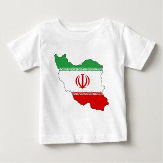Der Iran IR, Flagge, Wappen جمهوریاسلامیایران Baby T-shirt