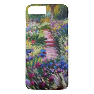Der Iris-Garten durch Claude Monet iPhone 8 Plus/7 Plus Hülle
