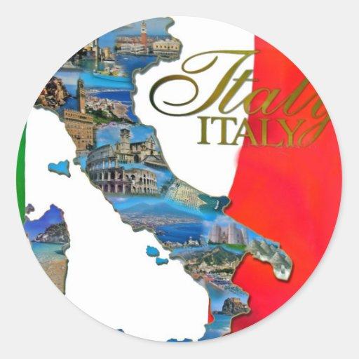 """Der italienische """"Stiefel """" Sticker"""