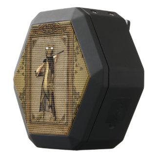Der Jäger, lustiger Gecko Schwarze Bluetooth Lautsprecher