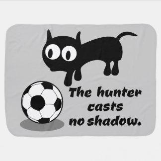 Der Jäger wirft keinen Schatten Babydecke